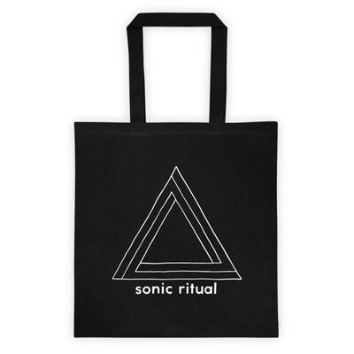sonic ritual logo tote