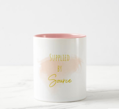 Supplied by Source Affirmation Mug