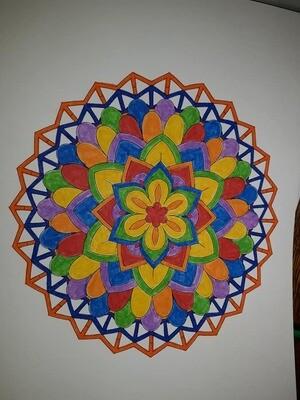 FREE Mandala Coloring Page Download & Print