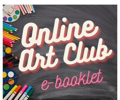 Online Art Club E-Booklet Instant Download