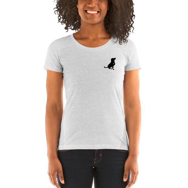 #AACdog Ladies' Short Sleeve T-shirt