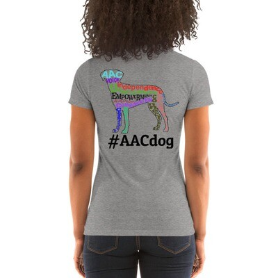 #AACdog Empowerment Ladies' T-shirt