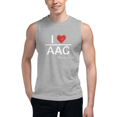 I <3 AAC: Muscle Shirt (Multiple Colors)