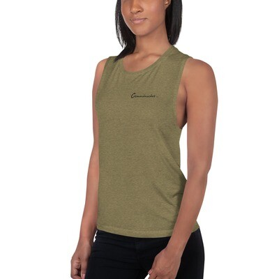 Commūnicāre Ladies' Muscle Tank
