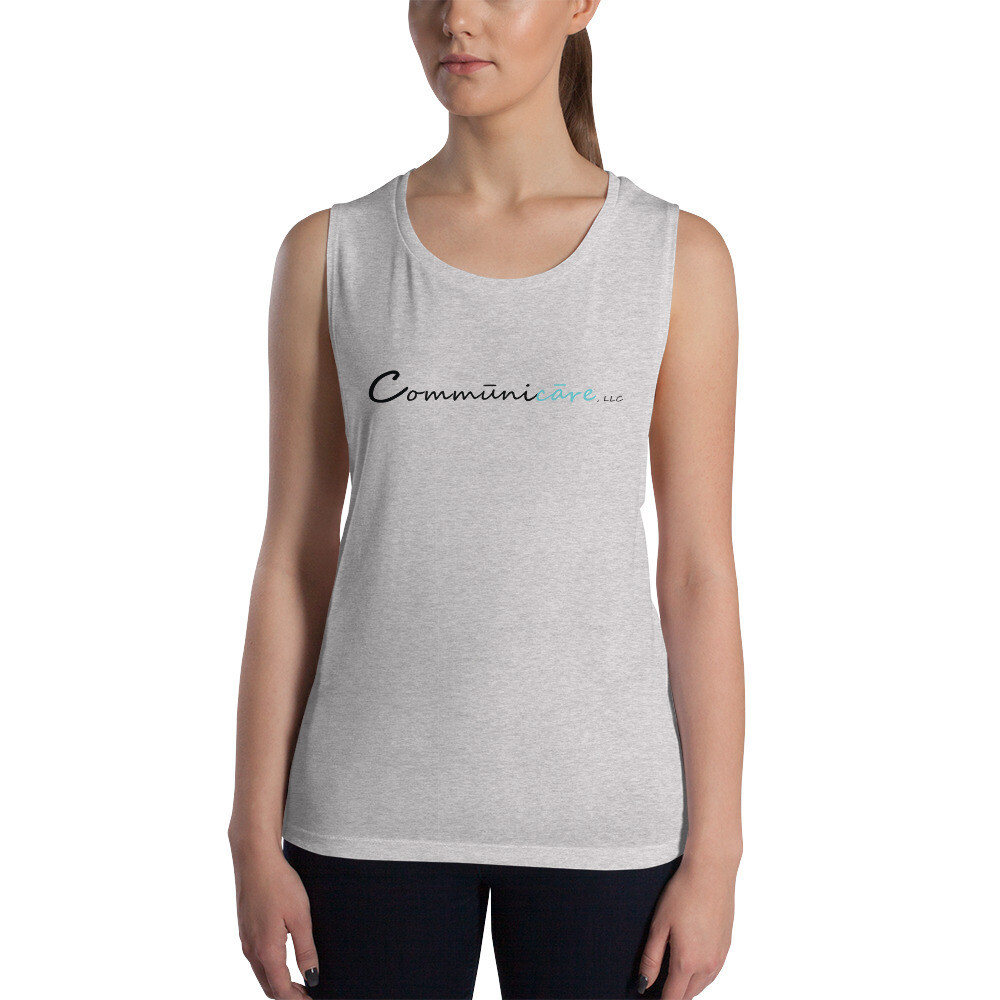 Comūnicāre Ladies' Muscle Tank