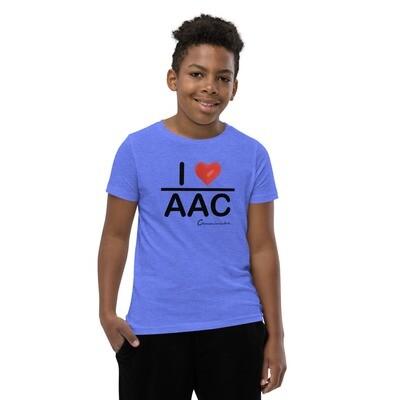 I <3 AAC Youth Short Sleeve T-Shirt