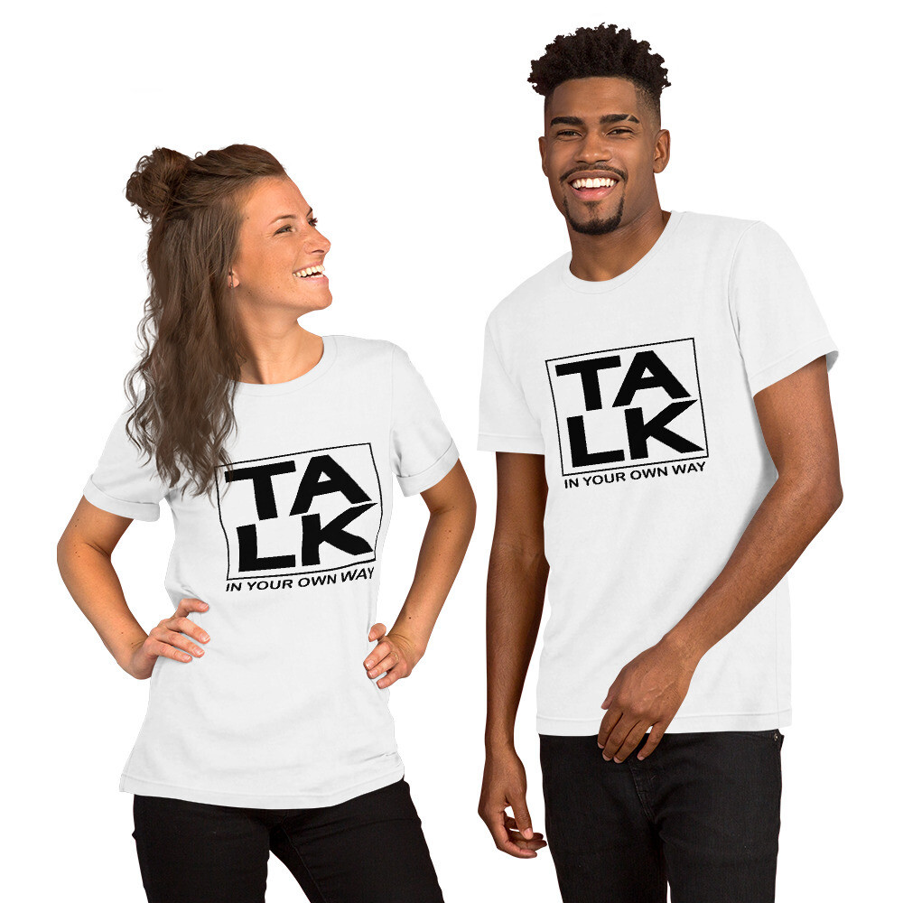TALK Short-Sleeve Unisex T-Shirt