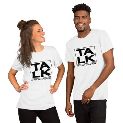 TALK Short-Sleeve Unisex T-Shirt