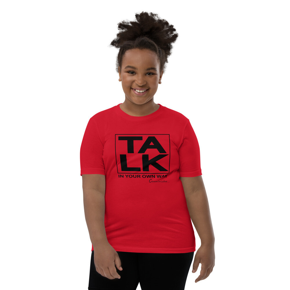 TALK Youth Unisex Short Sleeve T-Shirt
