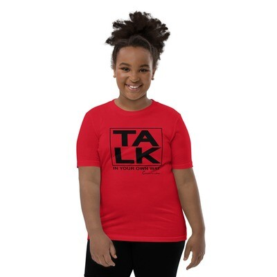 TALK Youth Unisex Short Sleeve T-Shirt