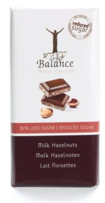 balance milk hazelnut