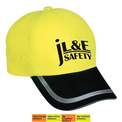 Port Authority® Reflective Safety Cap (Logo Option Available)