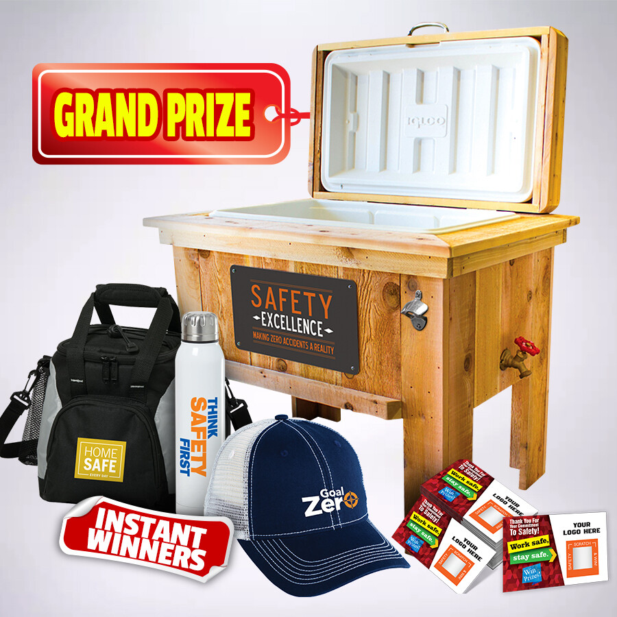 251 Piece Prize Kit w/ Scratch-Off Tickets