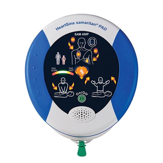 HeartSine® Samaritan® PAD 450P AED with CPR Feedback