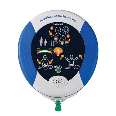 HeartSine® Samaritan® PAD 450P AED with CPR Feedback