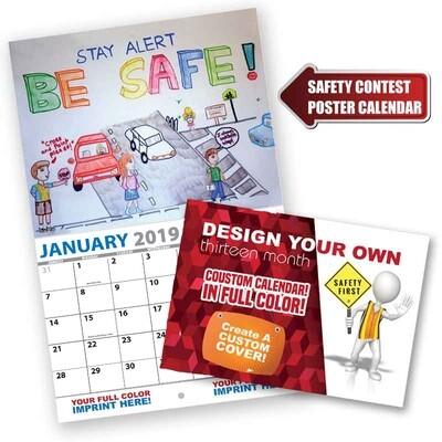 Safety Poster Contest Calendar