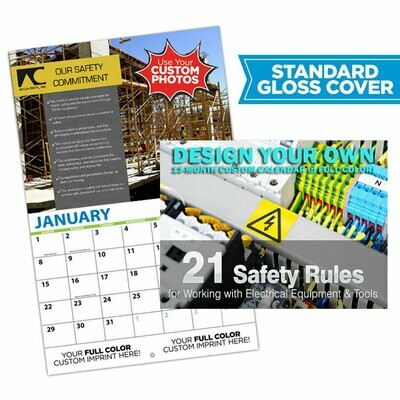 Custom Safety Photo Wall Calendar