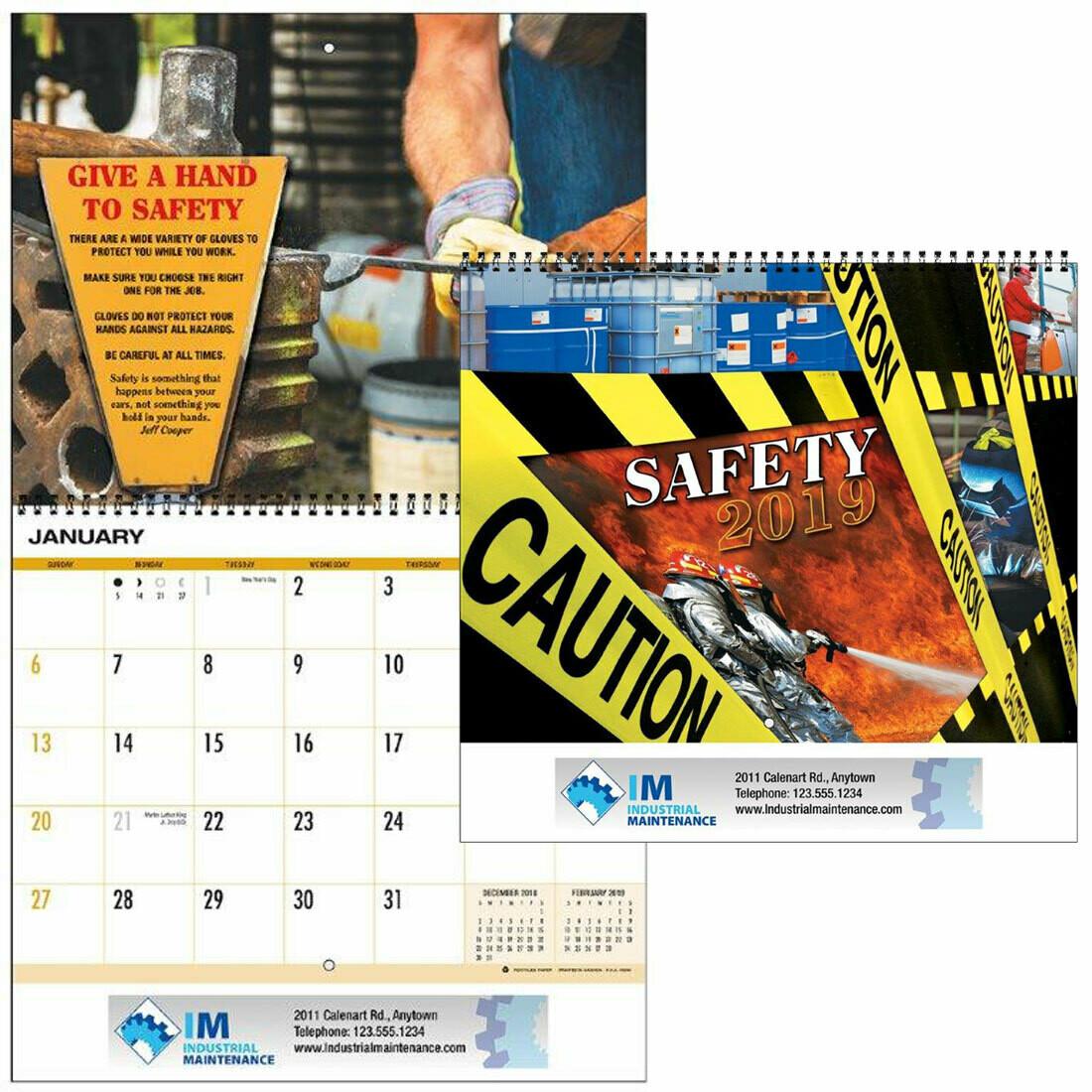 Safety Theme Calendar