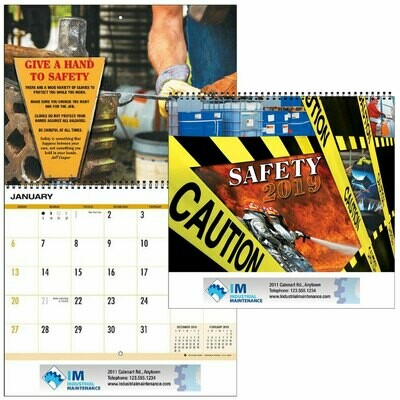 Safety Theme Calendar