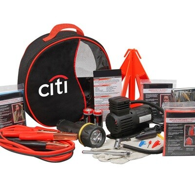 Roadside Rescue Kit (Logo Available) with 24/7 Roadside Assistance