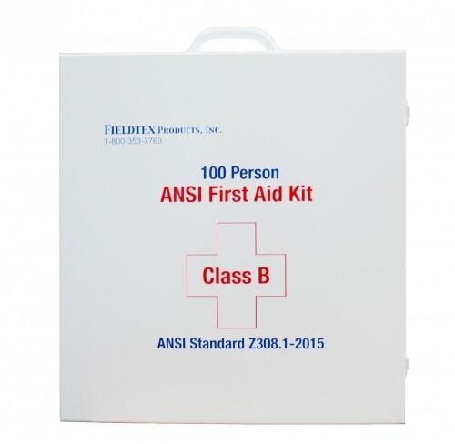 ANSI B 75 Person Metal First Aid Kit
