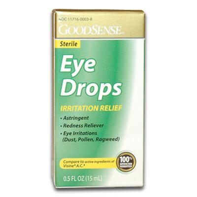 Eye Drops Irritation Relief. 5 oz.