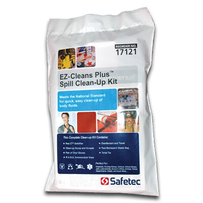 E-Z Cleans Plus Spill Clean-up Kit