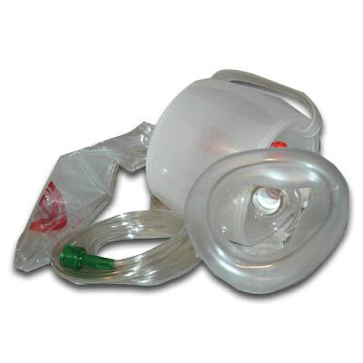 Disposable Bag Valve Mask Resuscitator- Adult