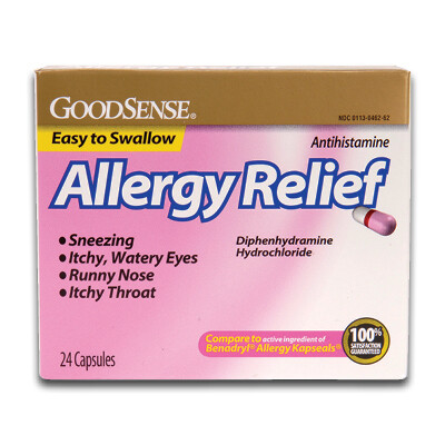 Allergy Relief Easy to Swallow Capsules (24/box)