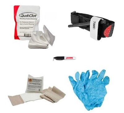 Premium Bleed Control Kit WITH QuikClot