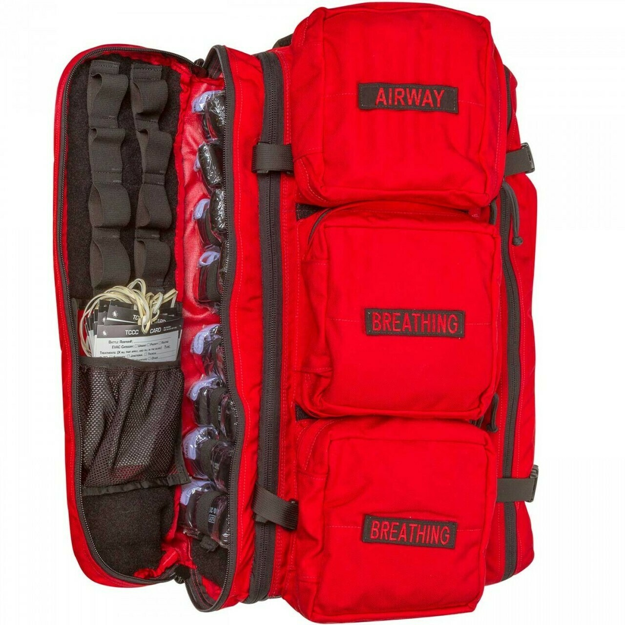MCI Walk Kit, RED or BLACK (w MedEVAC Litter)