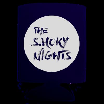 Smoky Nights Logo Koozie