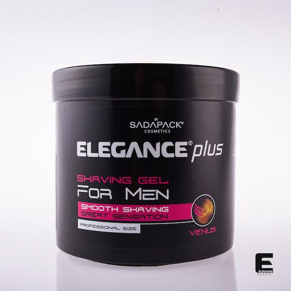 """Гель для бритья """"Elegance plus"""" Venus  1000  мл"""