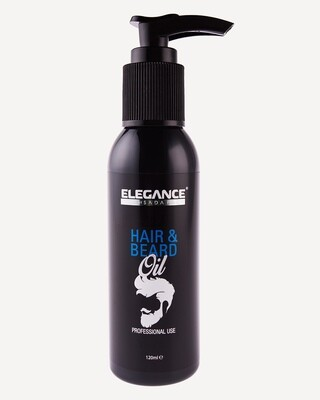 Прозрачное масло для волос и бороды Elegance Hair&Beard Oil CLEAR 120 мл