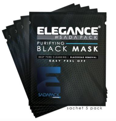 "Черная маска для лица ""Elegance"" 30 мл"