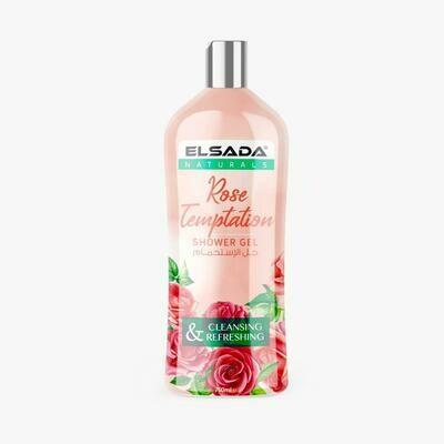 Гель для душа ELSADA Розовое Искушение
