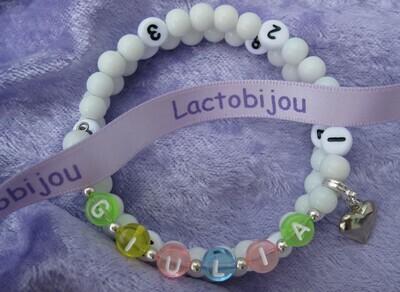 Lactobijou ABC baby blanc