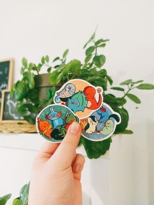 Pokémon Sticker Set