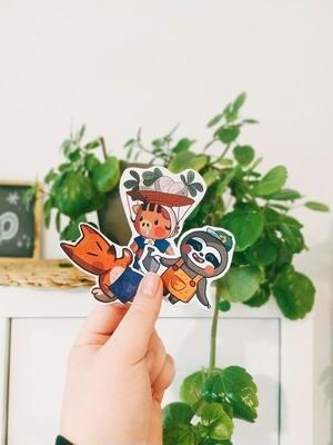 Animal Crossing 3 Stickers Set