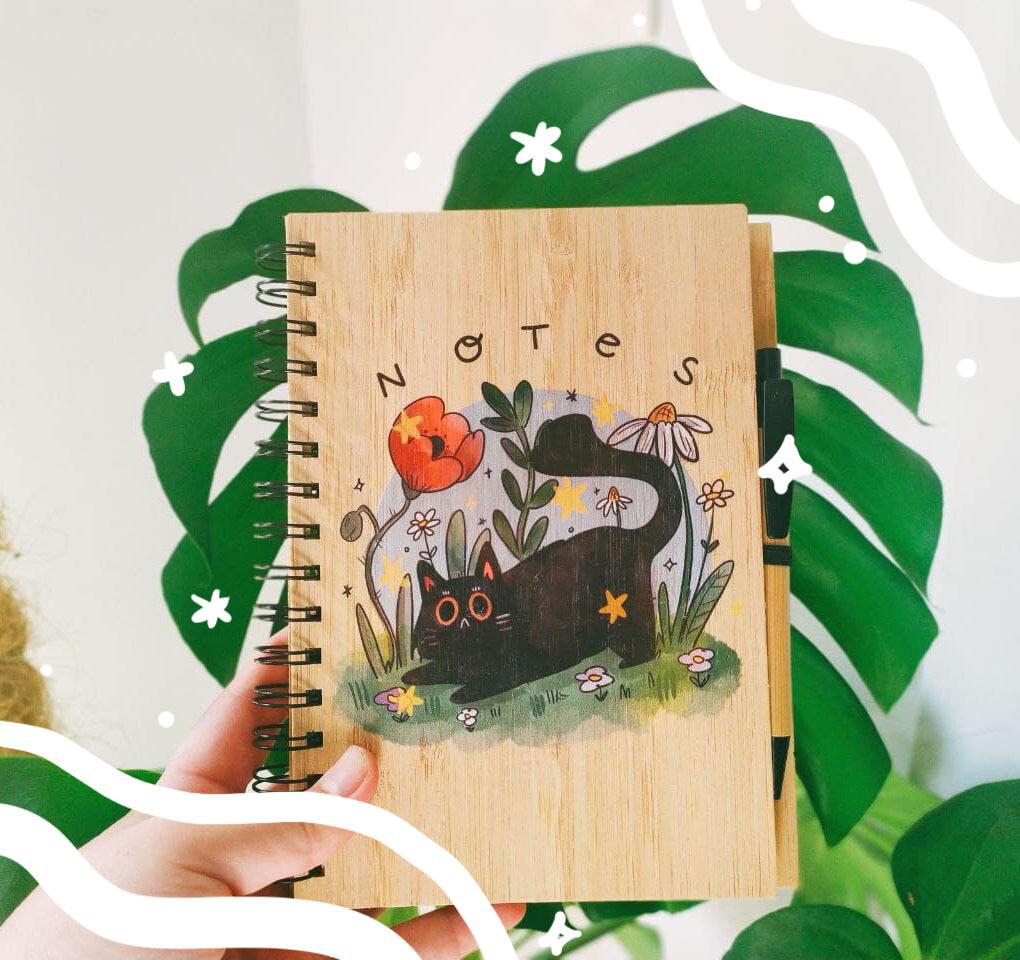 Libreta Bamboo A5 Botanic Pal