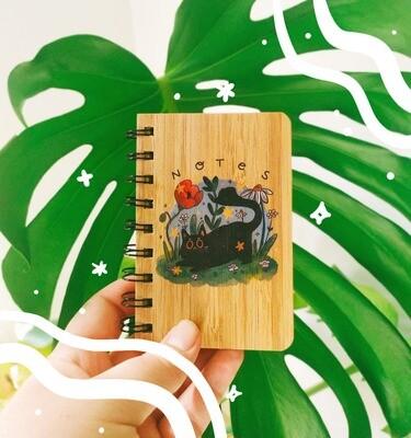 Libreta Bamboo A6 Botanic Pal