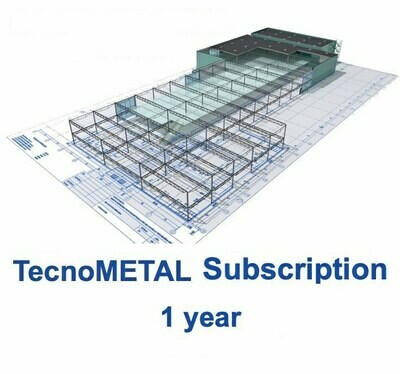 TecnoMETAL SUBSCRIPTION 2 years included solver