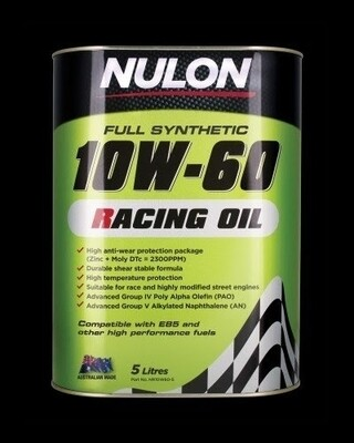 Nulon Racing Oil 10W60