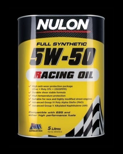 Nulon Racing Oil 5W50