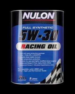 Nulon Racing Oil 5W30