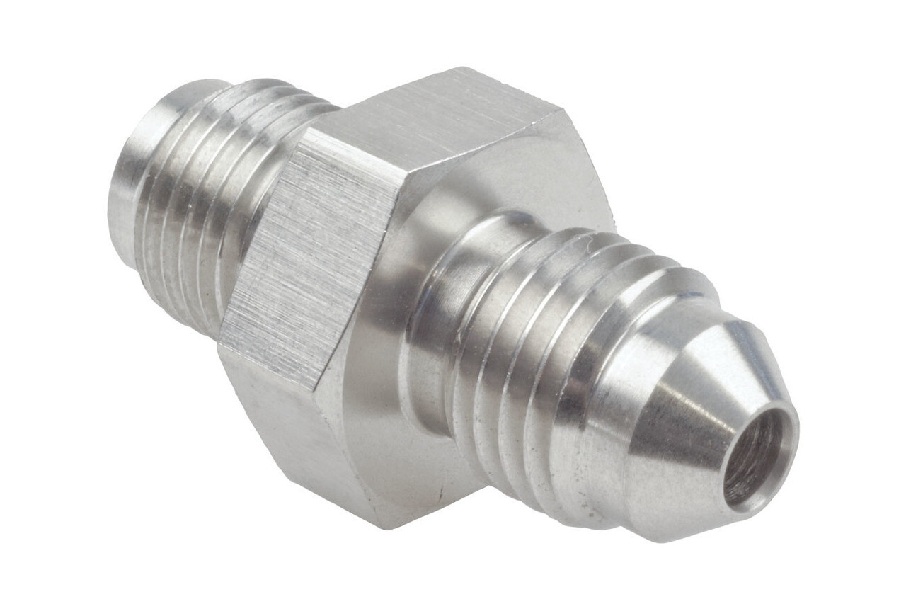 Raceworks 7/16″ x 24 UNF Male to AN-3 Male Flare (Stainless)