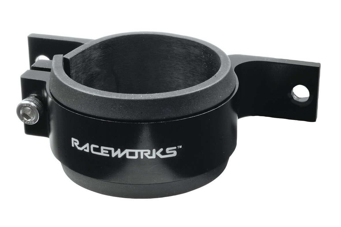 Raceworks Billet Fuel Pump Bracket 60mm – Black