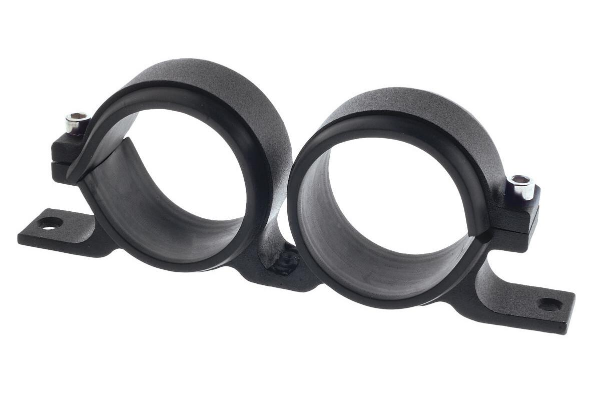Raceworks Twin Fuel Pump Bracket 60mm – Black