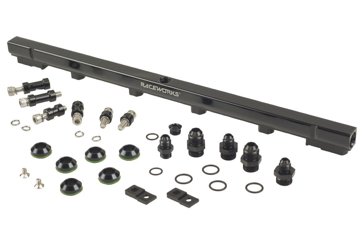Raceworks Fuel Rail Nissan Skyline R33 ECR33 RB25DET – Black
