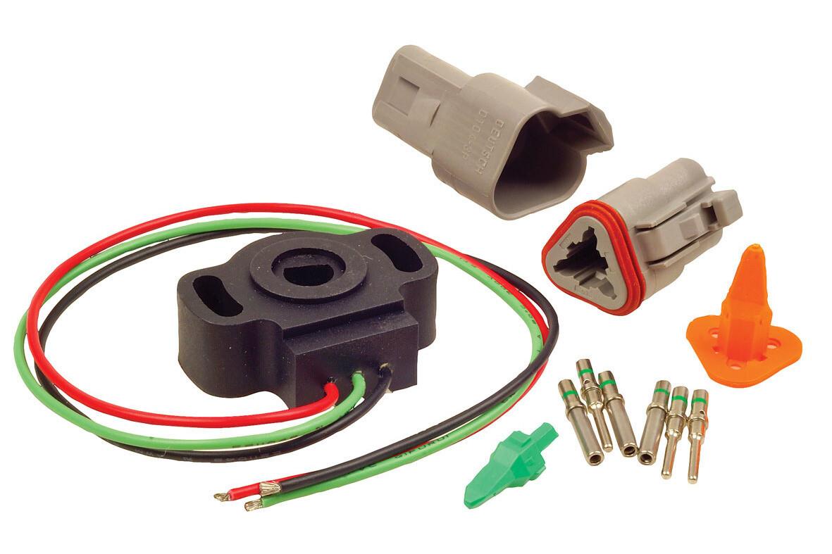 Raceworks 8mm D Shaft Throttle Position Sensor / TPS – Universal